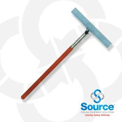 10 Inch Squeegee Head 20 Inch Red Wood Handle