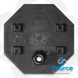 4 Inch Probe Cap With 1/2 Inch Grommet