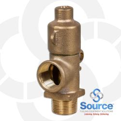 1 Inch Frost Proof Drain Valve - Brass