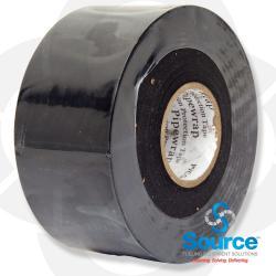 2 Inch / Black 10 Millimeter Cathodic Pipe Wrap (Tape)