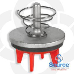 Check Valve With Spring (Red)