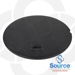 44 Inch R-Line Composite Replacement Lid With Spring Handle