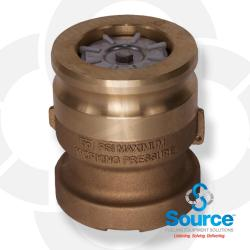 3 Inch X 4 Inch Vapor Recovery Adapter Bronze