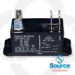 Replacement Relay 240 Volt Ac Coil Iq/Isotrol