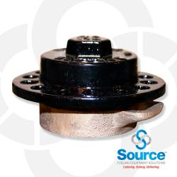 2 Inch Fill Cap & Adapter - Brass Body Iron Cap