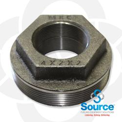 4 Inch X 2 Inch X 2 Inch Double Tapped Bushing Evr Approved