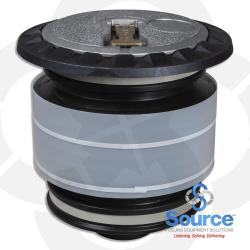 5 Gallon Product Fill/Spill Containment Manhole With Sealable Cover Thread On With Drain Duratuff Ii Base (E85 Approved)
