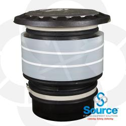 5 Gallon Slip-On Spill Containment Manhole With Sealable Cast Aluminum Cover