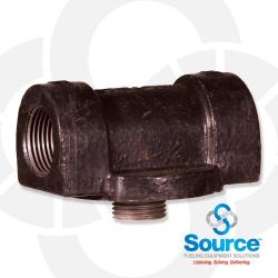 Cast Iron Filter Adapter - 1 Inch NPT Inlet And Outlet (50002)