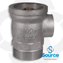 Suction Tube Extractor Fitting 4 Inches X 1-1/2 Inches X 4 Inches