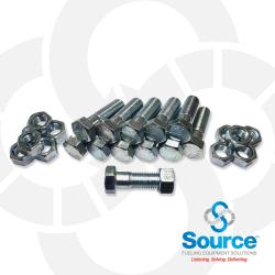 10 Inch Set Of Nuts And Bolts