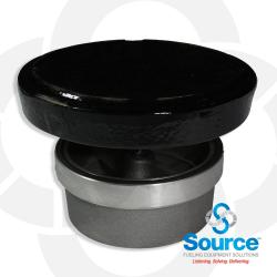 4 Inch 8 Ounce Per Square Inch Emergency Vent - Female NPT With Viton A O-Ring