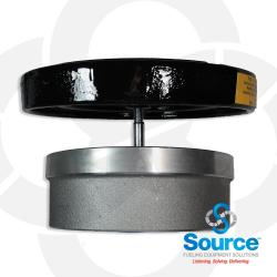 6 Inch 8 Ounce Per Square Inch Emergency Vent - Female NPT With Viton A O-Ring