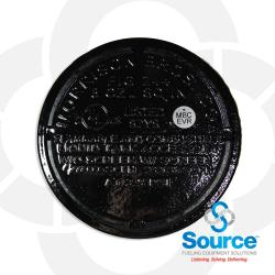 6 Inch 8 Ounce Per Square Inch Emergency Vent - Female NPT With Viton B O-Ring Evr Approved