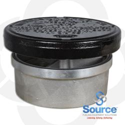 8 Inch 8 Ounce Per Square Inch Emergency Vent - Female NPT With Viton A O-Ring