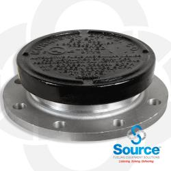 8 Inch 16 Ounce Per Square Inch Emergency Vent - Flanged With Viton A O-Ring