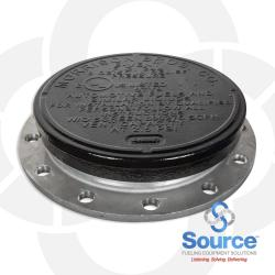 10 Inch 8 Ounce Per Square Inch Emergency Vent - Flanged With Viton A O-Ring