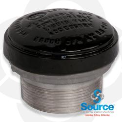 3 Inch 8 Ounce Per Square Inch Emergency Vent - Male NPT With Viton A O-Ring