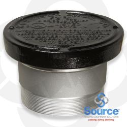 6 Inch 8 Ounce Per Square Inch Emergency Vent - Male NPT With Viton A O-Ring