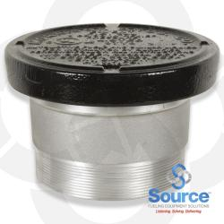 8 Inch 8 Ounce Per Square Inch Emergency Vent - Male NPT With Viton A O-Ring