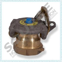 2 Inch Tank Monitoring Cap With 3/8 Inch Port Hole