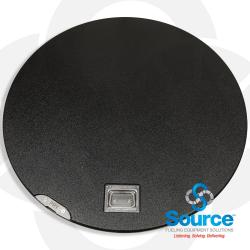 38 Inch Manhole Cover Only With Handle & Pry Plate
