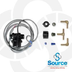 Vacuum Liquid Sensor In Line