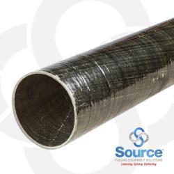 3 Inch X 20 Foot Dualoy 3000/L Singlewall Fiberglass Pipe Square Cut (Order In 20 Foot Lengths)