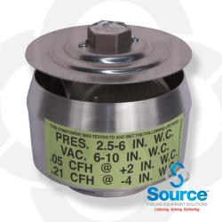 2 Inch Thread-On Pressure/Vacuum Vent 3 Inch Wcp-8 Inch Wcv