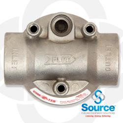 Aluminum Filter Adapter - 1 Inch NPT Inlet And Outlet (For 400 450 And 475 Series Cim-Tek Filters)