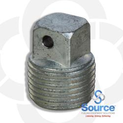 3/8 Inch Test Port Plug With Seal Hole
