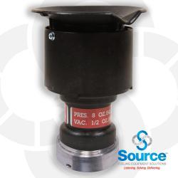 2 Inch Pressure Vacuum Vent Slip On 8 Ounce Pressure 1/2 Ounce Vacuum