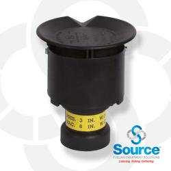 2 Inch Pressure Vacuum Vent Thread On 3 Inch Water Column Pressure 8 Inch Water Column Vacuum