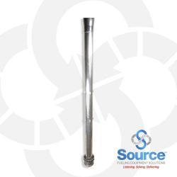 4 Inch X 13 Foot Poppeted Coaxial Fill Drop Tube