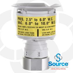 2 Inch Thread-On 2-1/2 Inch To 6 Inch Water Column Pressure Vacuum Vent