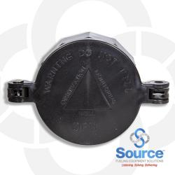 4 Inch Plastic Monitor Cap And Collar Can Be Locked With Long Shank Padlock ( Monitoring Well Do Not Fill)