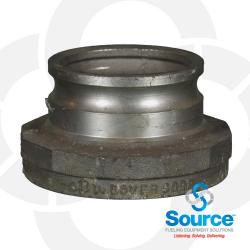 3 Inch X 4 Inch Fill Adapter Aluminum Top Seal