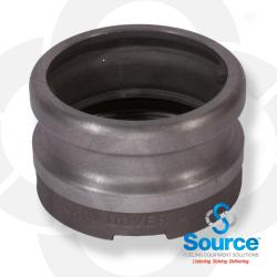 4 Inch X 4 Inch Fill Adapter Aluminum Top Seal