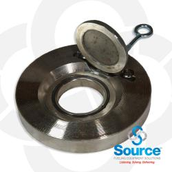 3 Inch Wafer Check Valve  Steel With Viton O-Ring