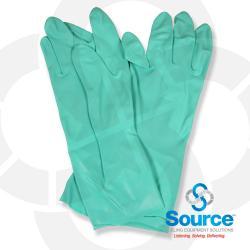 Flock Lined Large Nitrile Glove 18 Millimeter Size 9