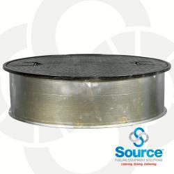 38 Inch Round Manhole With 10 Inch Skirt
