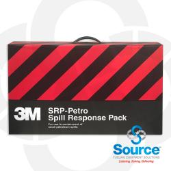 3M Spill Response Pack 5 Gal Capacity (3) 4 Foot Mini-Booms (5) 17X19 Inch Sorbent Pads (1) Poly Bag (3M-28950)