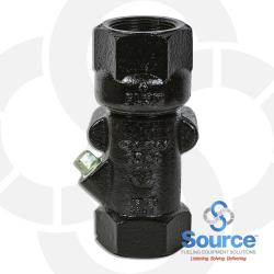 1-1/2 Inch Vertical Check Valve With Test Port And Shear Groove Boss Mount (E85)