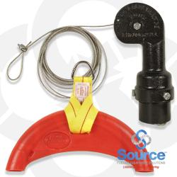 870 Hose Retractor With 1 Inch Hose Bun