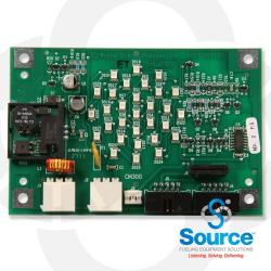 Printer Circuit Board Assembly Lite And Barcode Scanner Smc Grn