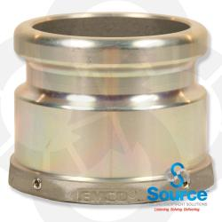 Fill Adapter - Aluminum - No Lugs 4 Inch Npsm X 4 Inch Cam & Groove [Evr]