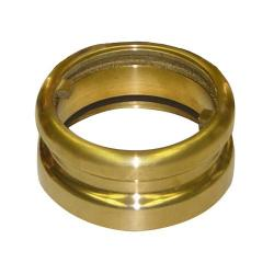 Fill Adapter - Brass - Lugs 4 Inch Npsm X 4 Inch Cam & Groove