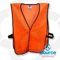 Glowear 8010Hl Non Certified Economy Vest Orange 1 Size