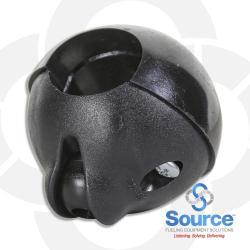 Ball Shaped Hose Clamp 5/8 Inch ID 1 Inch OD