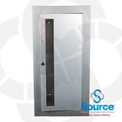 Surface Mounted Academy Aluminum Fire Cabinet With Two Keys
